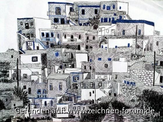 Häuser in Griechenland