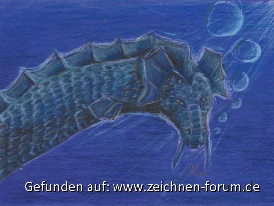 Blauer Seedrache
