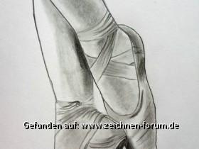 Ballerinaschuhe - Versuch 1