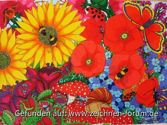 Kalenderbild März 2017 Natur/Blumen