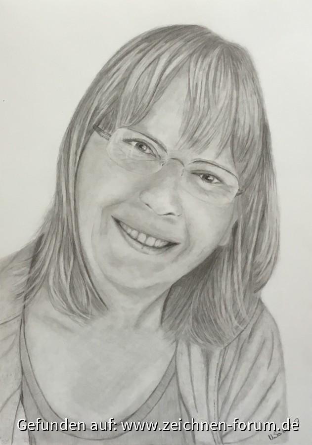 Porträt mit Graphit