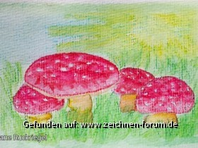 Postkarte für Alphawölfin
