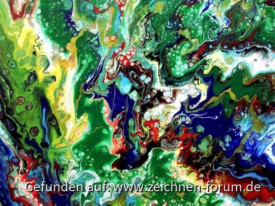 abstrakt grün