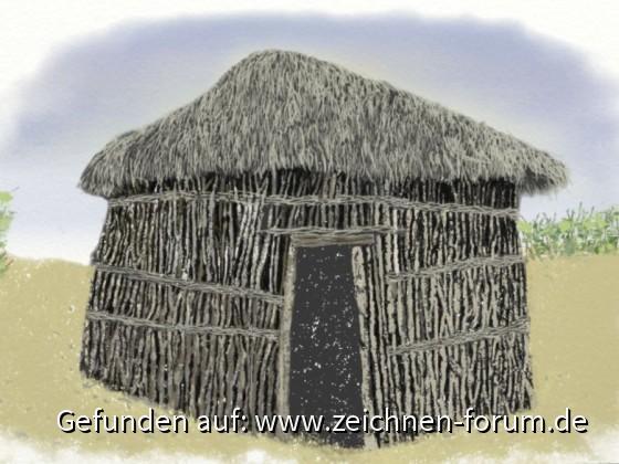 Afrika - digital gemalt mit ArtRage Lite von Zwerg