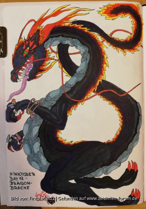 #INKTOBER 2019 - Day 12 - Dragon - Drache