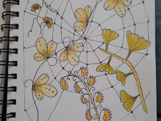 Tangle gelbe Woche