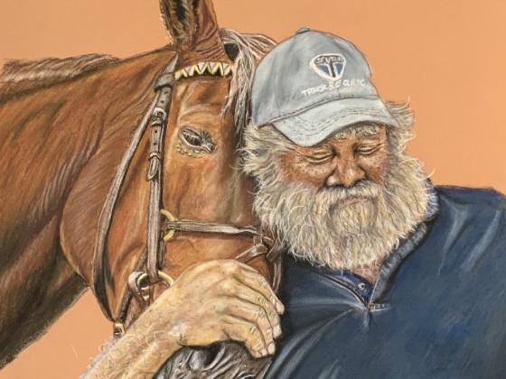 Der alte Mann und sein Pferd
