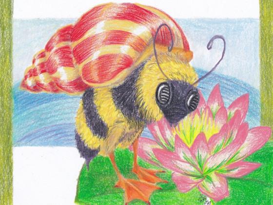 Bienen-Schnecken-Ente