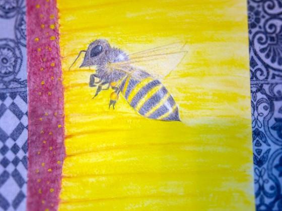 Eine Biene für die Mama