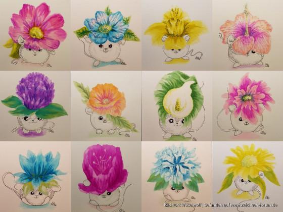 Blumenmäuschen