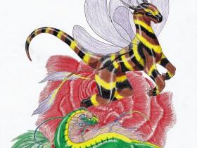 Die Raupe & die Biene