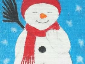 Kleiner Schneemann