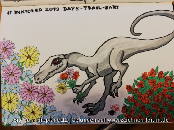 #Inktober 2019 - Day 8 - frail - zart