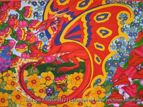 Forenkalender 2020 - Alles was fliegt - Blütendrache