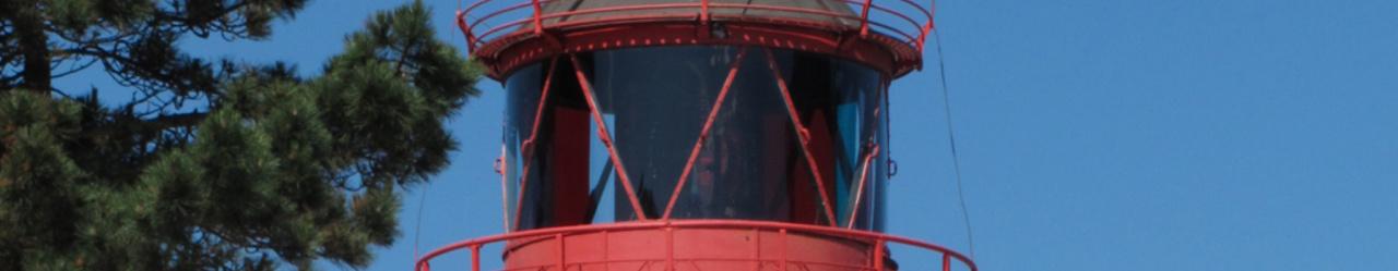 Zeichenübung 75 - Kleiner Leuchtturm auf Hiddensee
